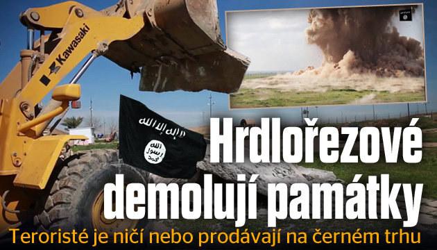 Památky v Sýrii a Iráku ohrožují džihádisté!