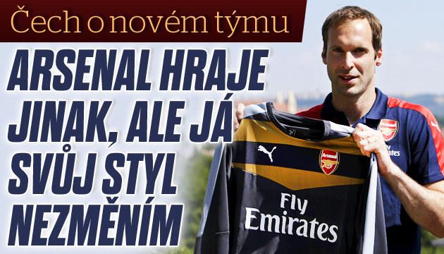 Petr Čech se rozpovídal o svém novém týmu