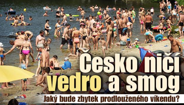 Vedro neustupuje, Česko ohrožuje smog