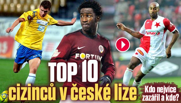 Vyberte nejlepšího cizince české ligy