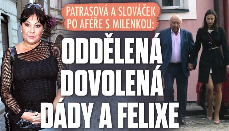 Patrasová a Slováček: Oddělená dovolená