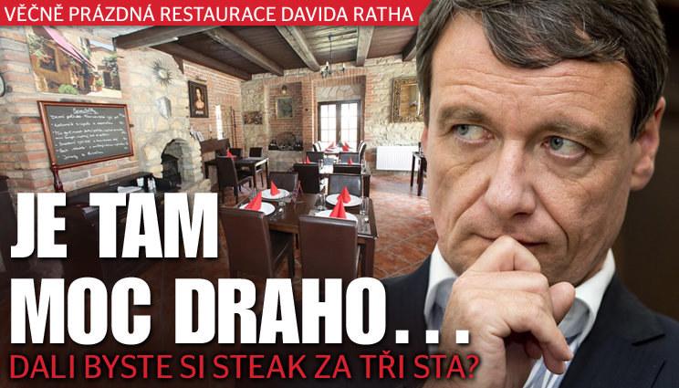 Exhejtmanova restaurace stále zeje prázdnotou