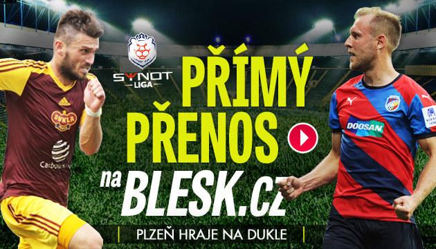 PŘÍMÝ PŘENOS: Potvrdí Plzeň formu na Dukle?