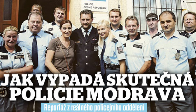 Na návštěvě u skutečné Policie Modrava