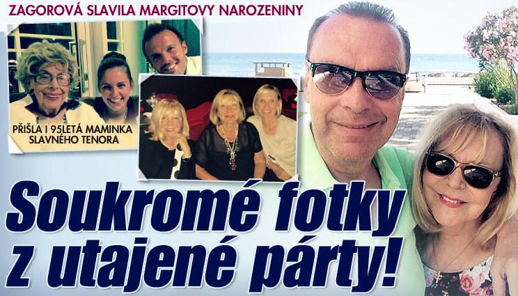 Tajná oslava Margity a Zagorové: Soukromé fotky!