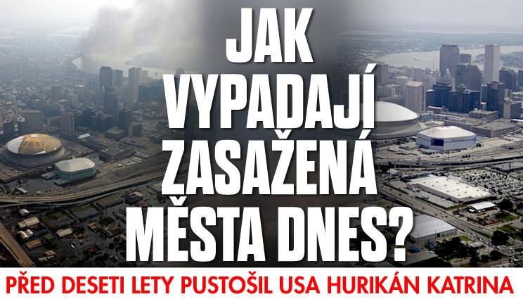 Před deseti lety pustošila USA Katrina