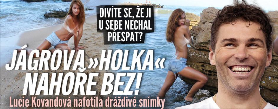 """Jágrova """"holka"""" nahoře bez: Lucie Kovandová nafotila dráždivé snímky!"""