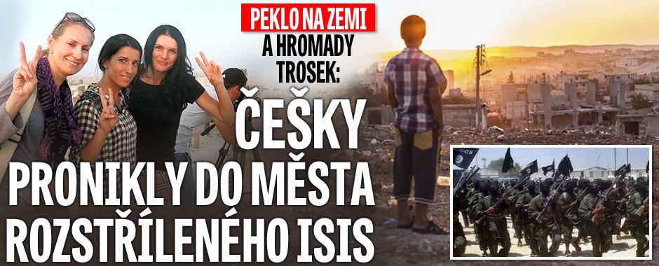 Češky ve městě, odkud utíkal utonulý syrský chlapec: Peklo na zemi po bojích s ISIS