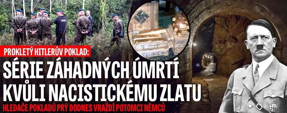 Prokleté nacistické zlato: Hledače pokladů prý dodnes vraždí potomci Němců!