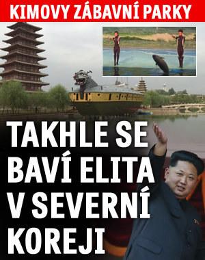 Kimovy zábavní parky: Takhle se baví severokorejská elita