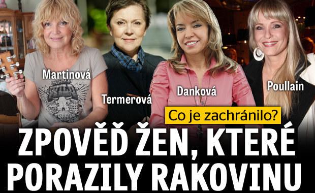 Danková, Poullain, Martinová a Termerová porazily rakovinu: Zpověď o tom, co je zachránilo!
