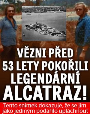 Pokořili legendární Alcatraz! Snímek potvrdil, že se bratrům z věznice nejspíš podařilo upláchnout