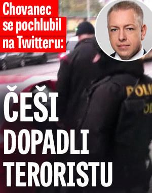 Česko zadrželo mezinárodně hledaného teroristu. Při silniční kontrole