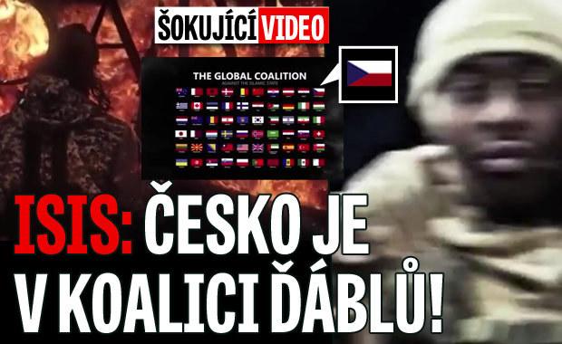 ISIS v novém videu: Česko patří mezi naše úhlavní nepřátele