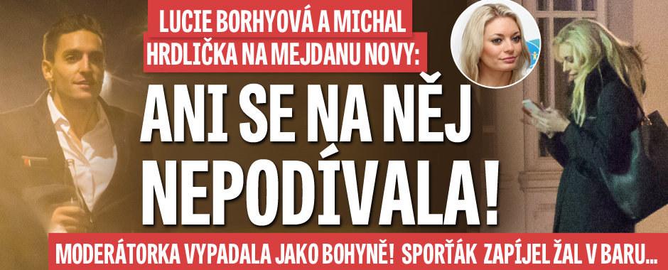 Sexy Borhyová na mejdanu Novy: Ani se na Hrdličku nepodívala!