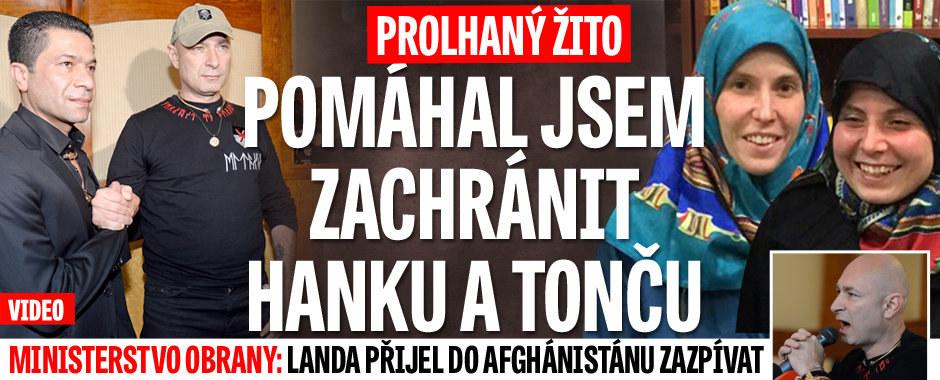 Žito prý pomáhal Hanče a Tonče a školil piloty. Obrana: Landa přijel jen zpívat