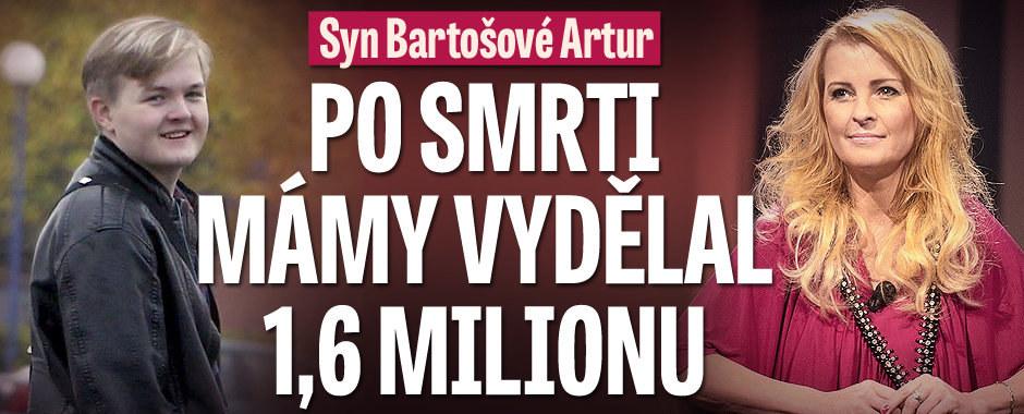 Syn Bartošové Artur: Po smrti mámy vydělal 1,6 milionu