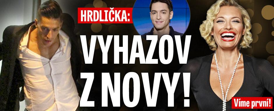 Víme první! Michal Hrdlička dostal padáka z Novy!