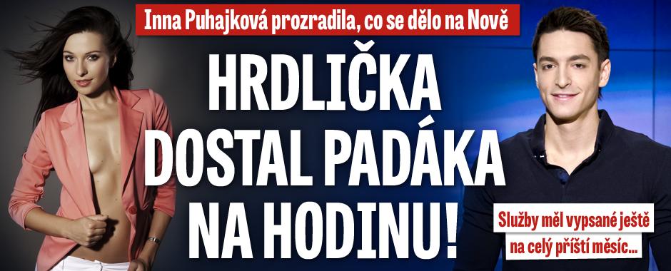 Inna Puhajková prozradila: Hrdlička dostal padáka na hodinu! Služby měl vypsané na celý srpen...