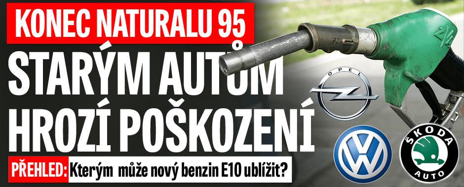 Zničí nový benzin motor i vašeho vozu? Kdo všechno se má bát natankovat E10