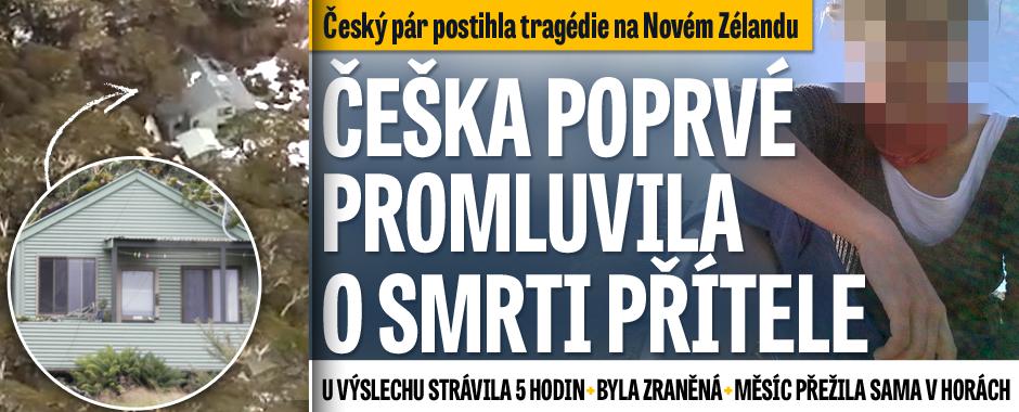 Nikdo vás na to nedokáže připravit, řekla Češka zachráněná na Novém Zélandu. U výslechu byla 5 hodin