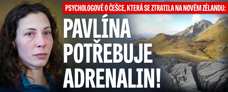 Psychologové o Češce, která se ztratila na Novém Zélandu: Pavlína potřebuje adrenalin!
