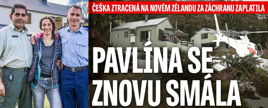 Pavlína ztracená na Novém Zélandu se znovu smála: Za záchranu zaplatila