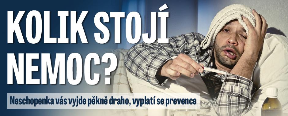 Kolik stojí nemoc: Vsaďte na prevenci a ušetříte tisíce korun