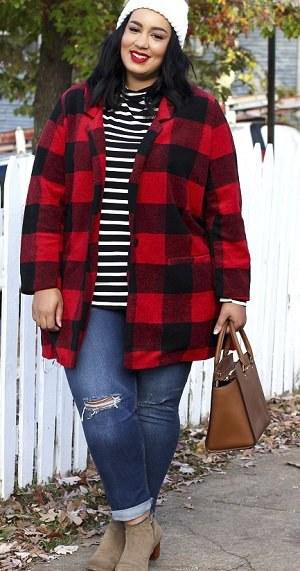 Zimní outfity podle XL blogerek: Zahoďte černé kabáty a odvažte se!