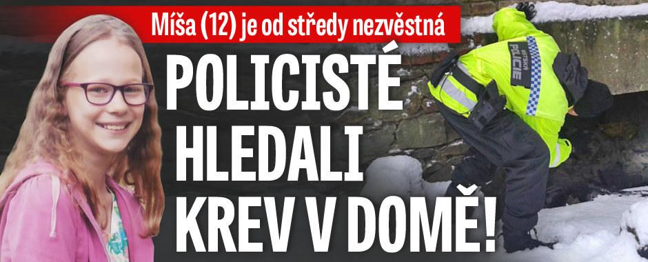 Noční manévry v domě zmizelé Míši (12): Kriminalisté hledali krev!