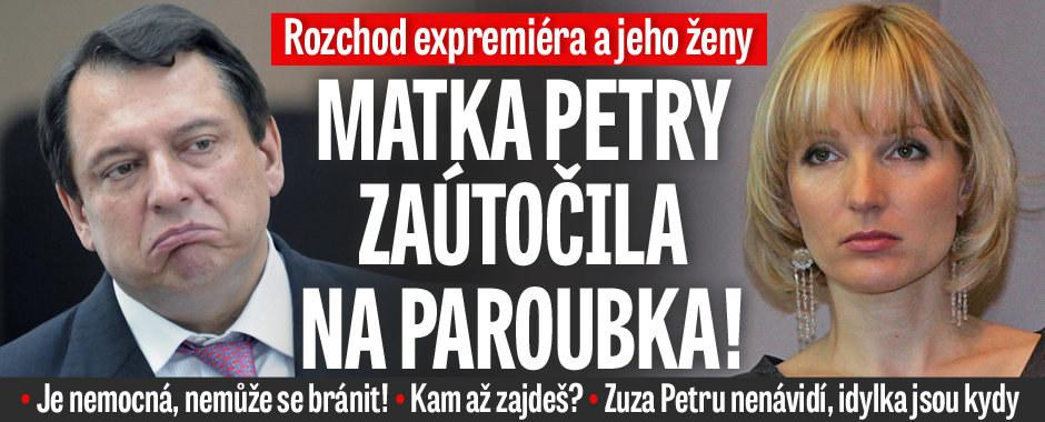 Matka Petry zaútočila na Jiřího Paroubka: Je nemocná, kam až zajdeš? Zuza ji nenávidí!