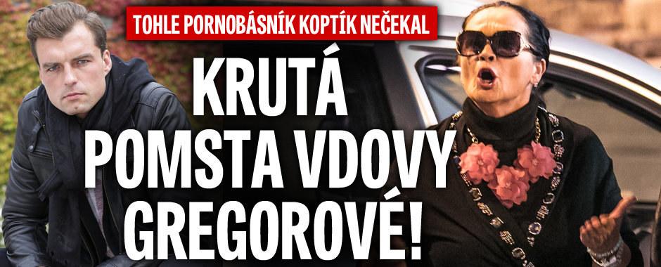 Tohle pornobásník Koptík nečekal: Krutá pomsta vdovy Gregorové!