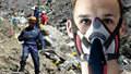 Pilot zabiják si před pádem nasadil masku, aby neomdlel