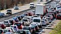 Dopravní kolaps na cestách k moři