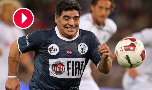 Zápas pro mír: Maradona, Baggio i Ševčenko ozářili charitativní zápas
