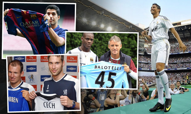 Šílené miliardy. TOP 10 klubů, které utratily za posily nejvíc v historii