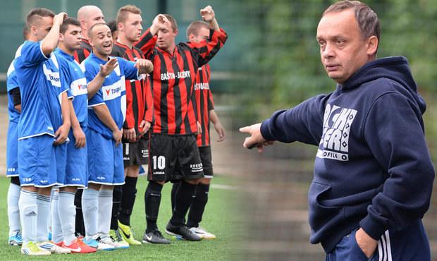 Tady velí Pavel Horváth... Jak to chodí při zápase romského týmu