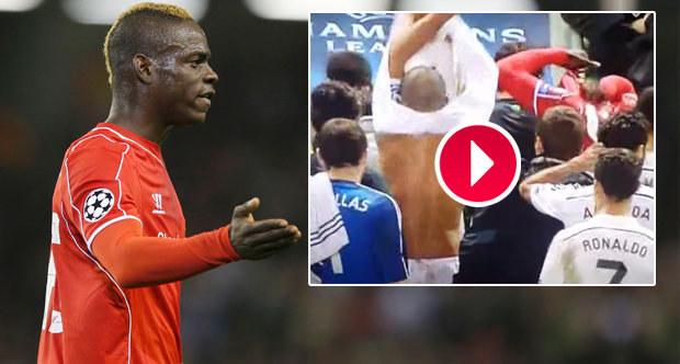 Balotelli na to zase kašlal! Už o půli měnil dres a zůstal v šatně