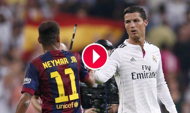 Barcelona se po prohře vzteká: Ronaldo kopl Alvese a měl jít ven!