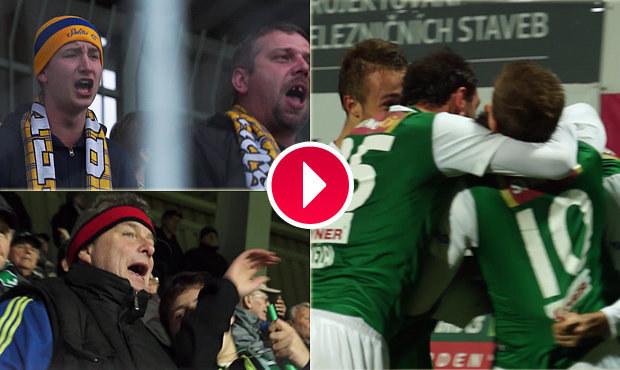 UNIKÁTNÍ VIDEO: 6 gólů, emoce v hledišti. Jak Jablonec zdolal Teplice