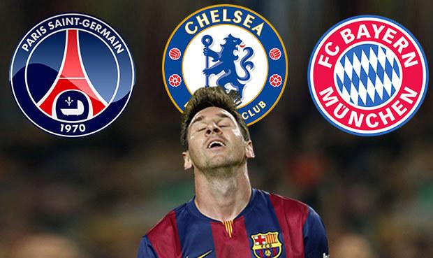 Messi není v Barceloně šťastný... Které kluby by si ho mohly dovolit?