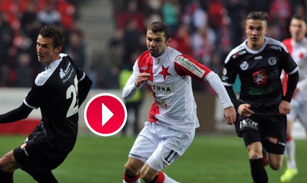 VIDEO: Slavia nevyužila početní výhodu a remizovala s Hradcem 1:1