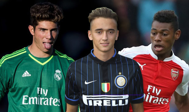 TOP 50 talentů: Budoucnost Arsenalu, Zidanův syn + jeden Čech