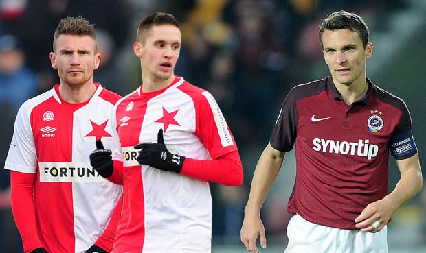 Slavia a Sparta řeší útok: Nahradí nové duo Škodu a co Lafata?