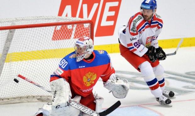 ONLINE: Čeští hokejisté hrají s Ruskem 0:0, chtějí další výhru