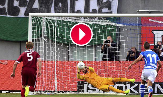 Novic Brabec fauloval Necida! Penaltu ale chytil hrdina Sparty Bičík