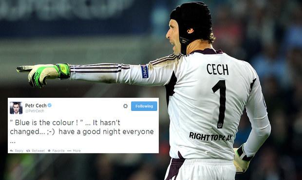 Modrá je dobrá! Jak Čech na twitteru potvrdil setrvání v Chelsea