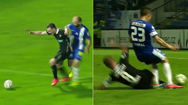 Penalta pro Plzeň, penalta pro Liberec. Sudí ale pustili oba fauly