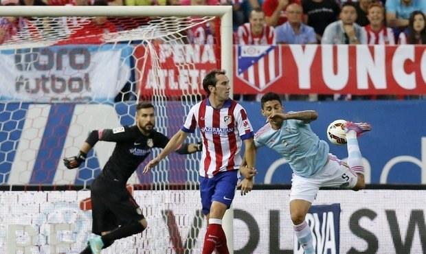 Trefa zády k bráně! Atlético srazil fantastický gól patičkou