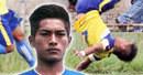 VIDEO: Tragická oslava gólu. Hráč v Indii udělal salto a zemřel
